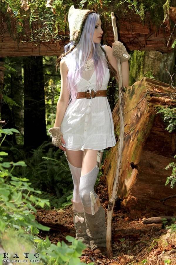 Kato nude Woodland - NudeCosplayGirls.com