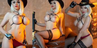 NudeCosplayGirls.com - Octokuro nude Ashe Overwatch
