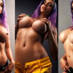 NudeCosplayGirls.com - Octokuro nude by Ura Pechen