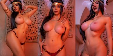 NudeCosplayGirls.com - Octokuro nude Santanico Pandemonium