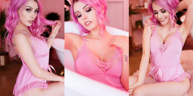 NudeCosplayGirls.com - Rolyatistaylor nude - Cute Pink