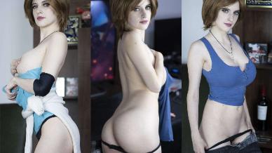 NudeCosplayGirls.com - Agos Ashford nude Jill Valentine