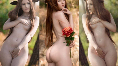 NudeCosplayGirls.com - Blue Snow nude