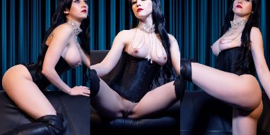 NudeCosplayGirls.com - Mechanical Vampire nude