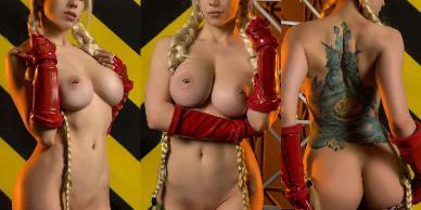NudeCosplayGirls.com - Octokuro nude Cammy