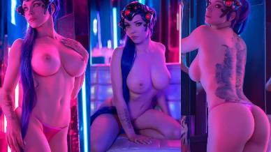 NudeCosplayGirls.com - Octokuro nude Summer Widowmaker