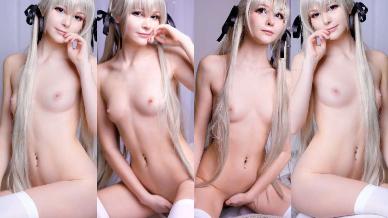 NudeCosplayGirls.com - Tsuki Desu nude Sora Kasugano
