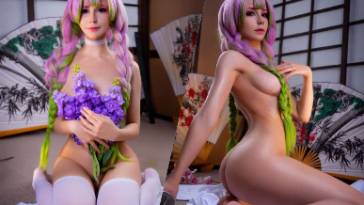 NudeCosplayGirls.com - Oichi Cosplay nude Mitsuri Kanroji