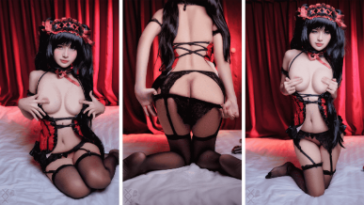 NudeCosplayGirls.com - Azami nude Kurumi Tokisaki