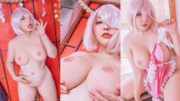 NudeCosplayGirls.com - QQueen nude Mashu