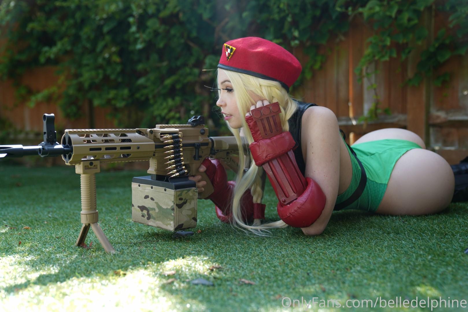Belle Delphine Cammy Street Fighter Set 0199