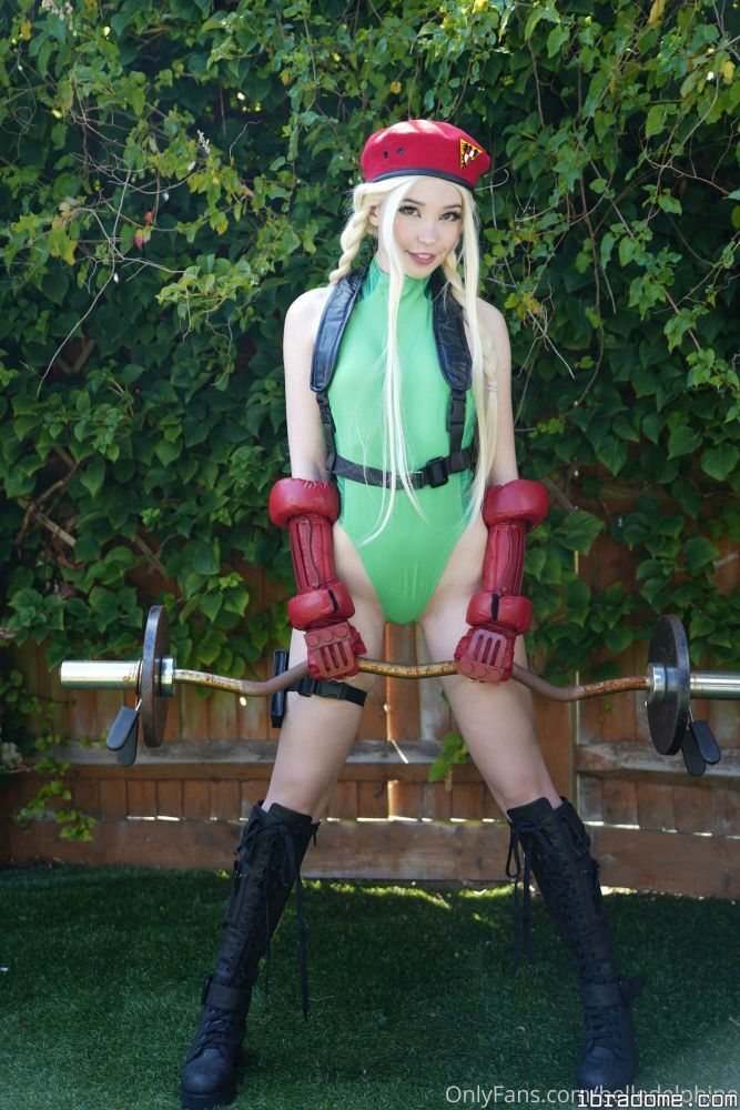 Belle Delphine Street Fighter Cosplay Leaked Nudes 0009