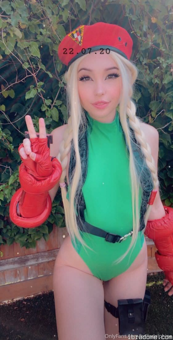 Belle Delphine Street Fighter Cosplay Leaked Nudes 0033