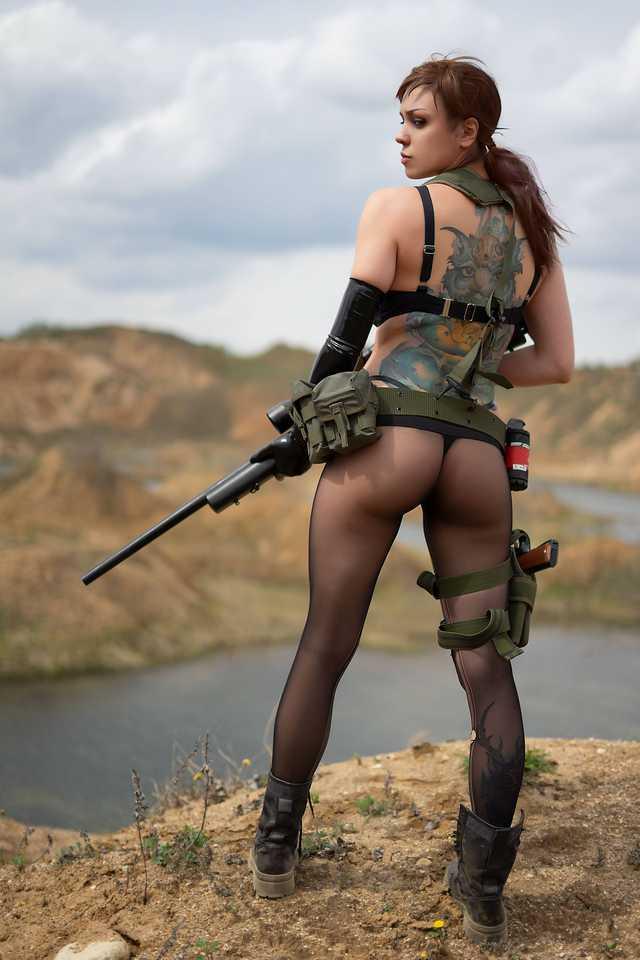 Cosplay nude quiet Metal Gear