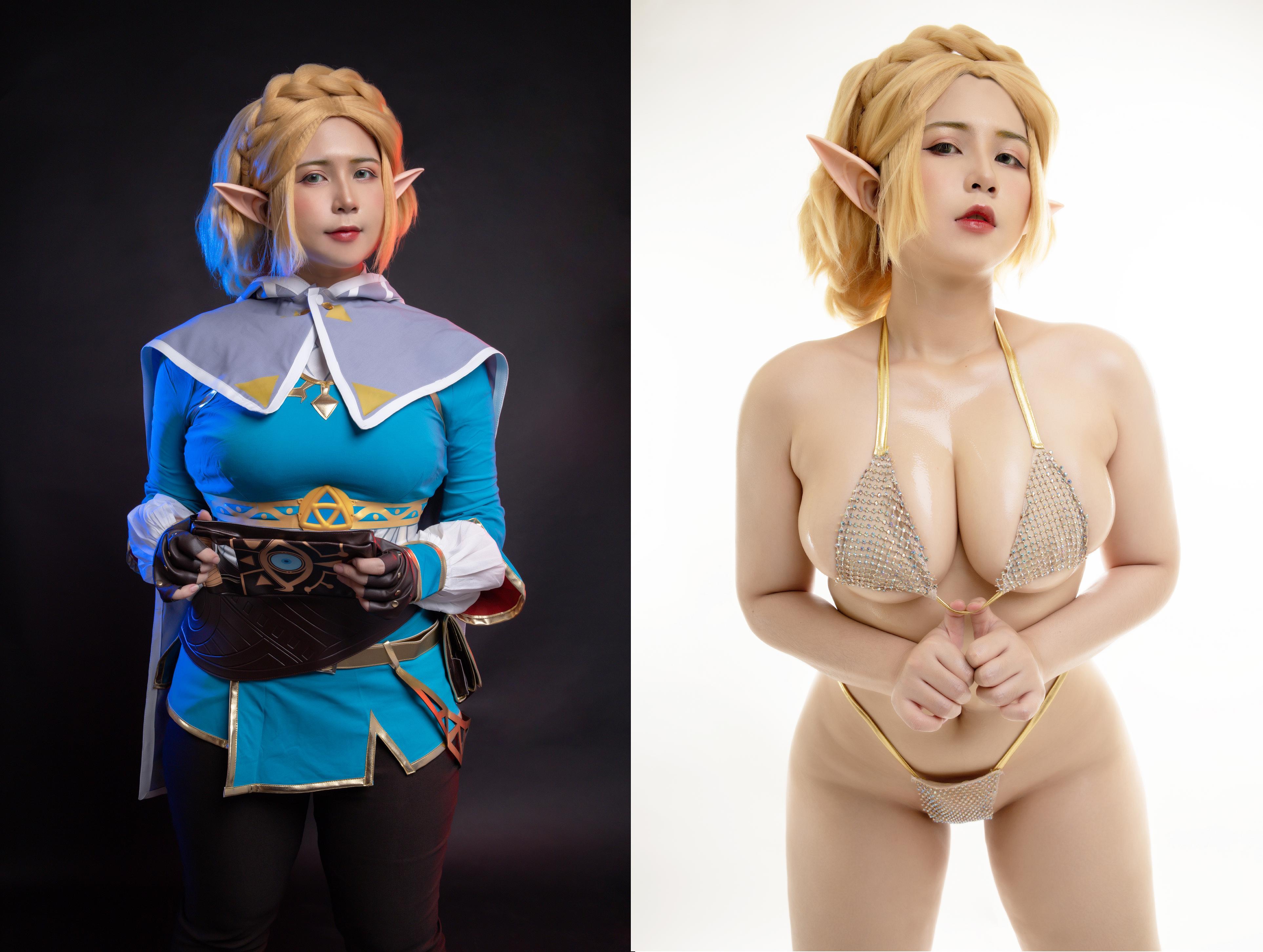 Zelda cosplay porn
