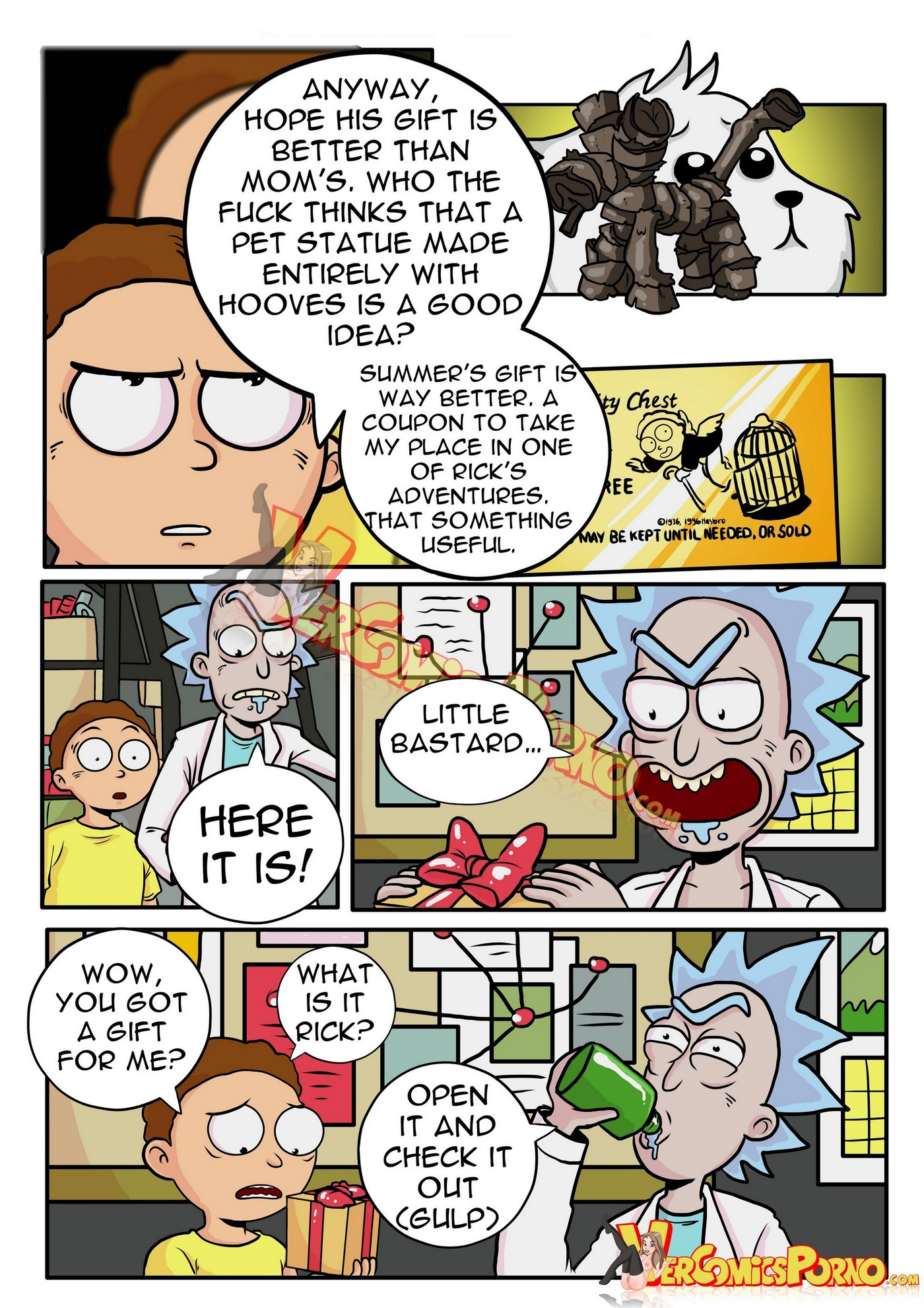 Rick and Morty Pleasure Trip 03