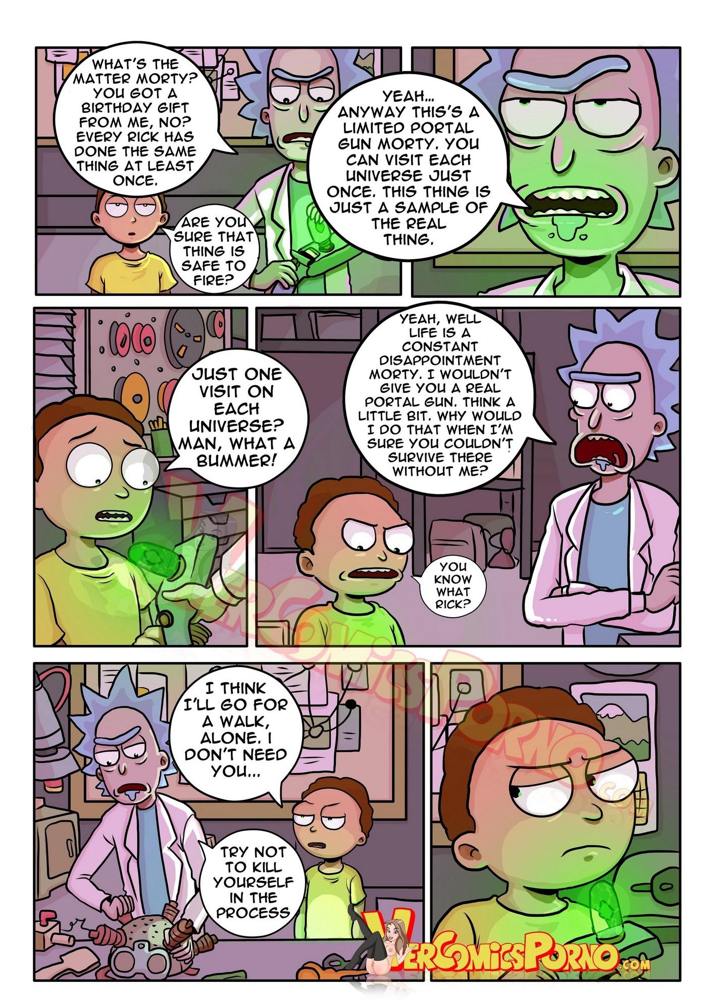 Rick and Morty Pleasure Trip 05