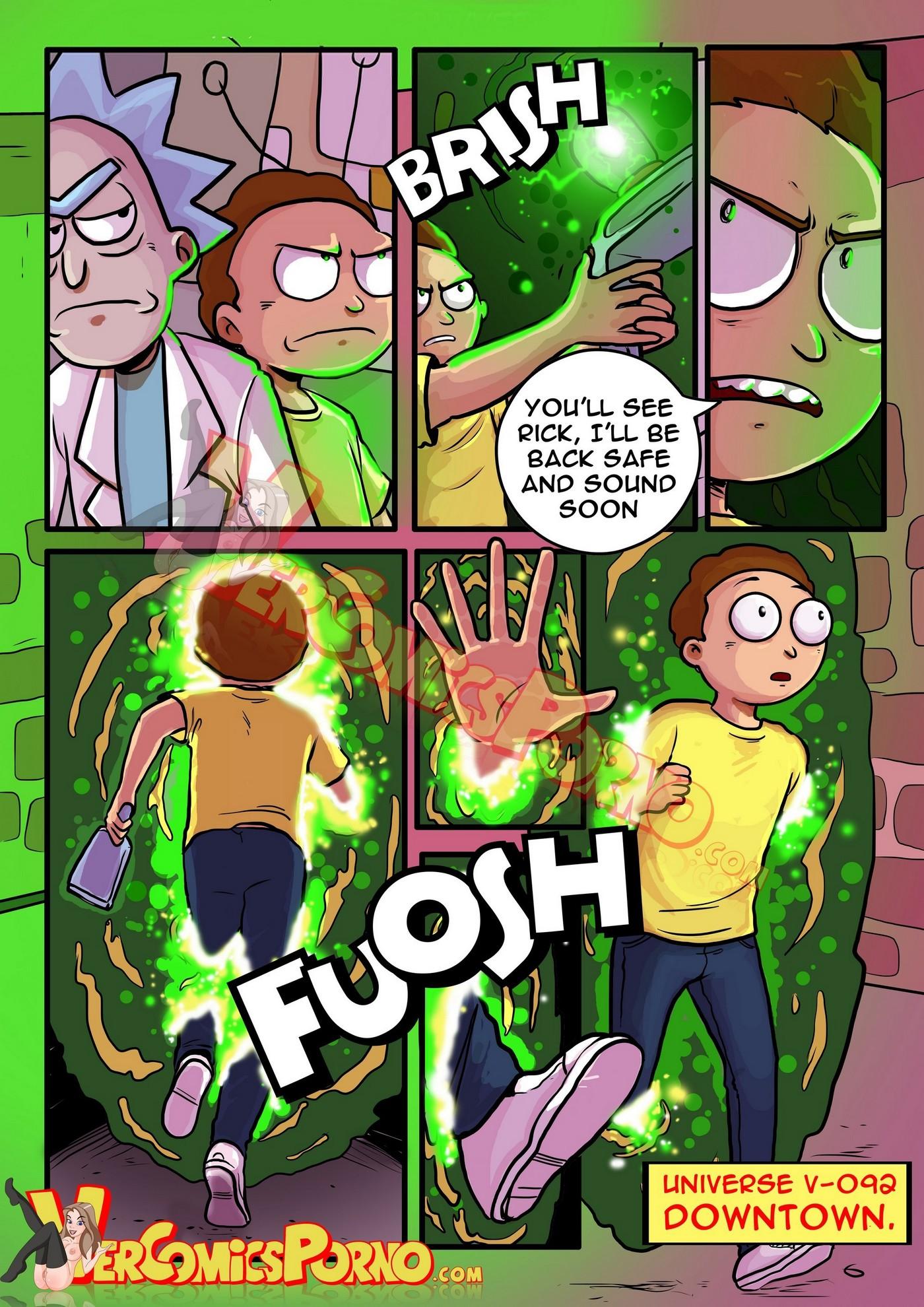 Rick and Morty Pleasure Trip 06