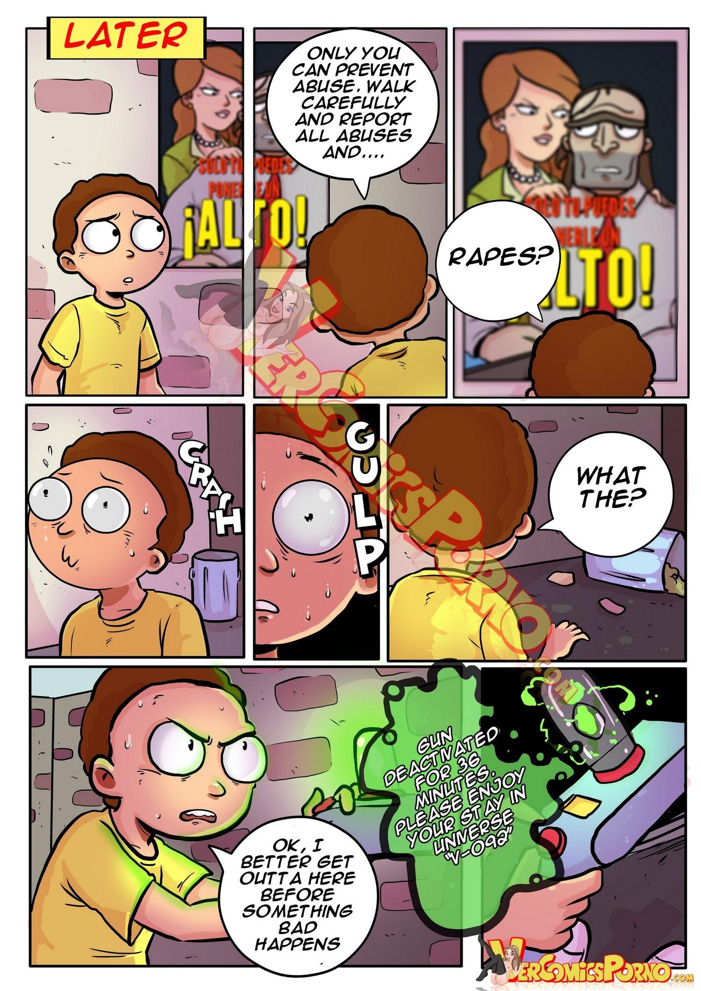 Rick and Morty Pleasure Trip 08