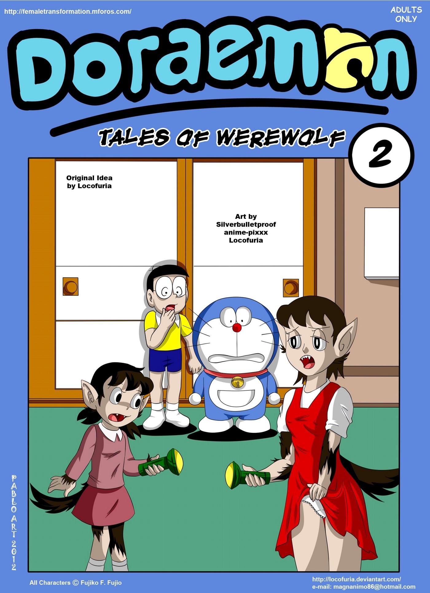Doraemon Tales of Werewolff 01