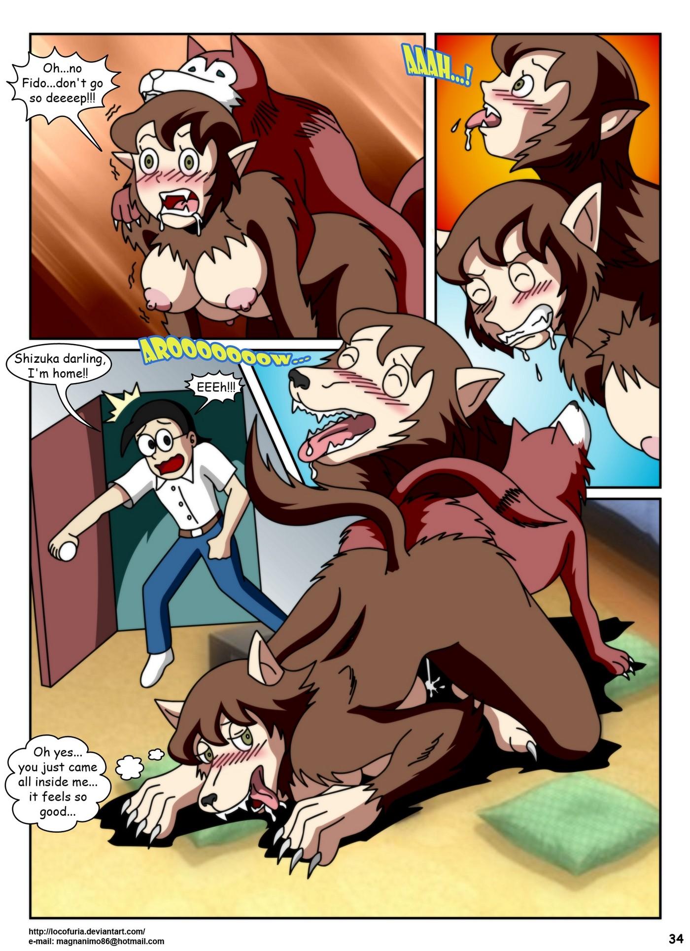 Doraemon Tales of Werewolff 37
